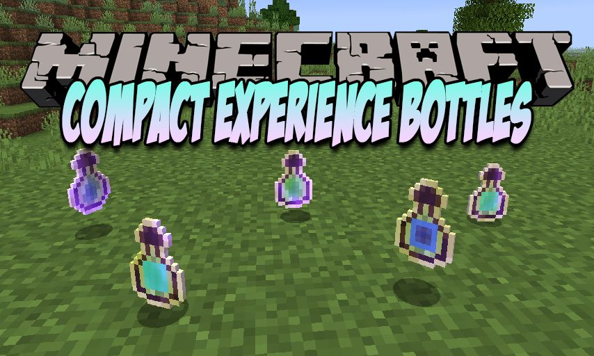 Compact Experience Bottles mod for Minecraft logo
