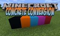 Concrete Conversion mod for Minecraft logo