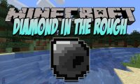 Diamond In The Rough mod for Minecraft logo