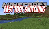 Fast Tool Switching mod for Minecraft logo