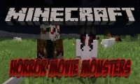 Horror Movie Monsters Mod mod for Minecraft logo