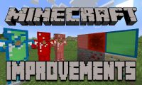 Minecraft Improvements mod for Minecraft logo