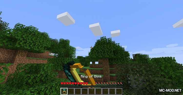 Ring of Blink mod for Minecraft (7)