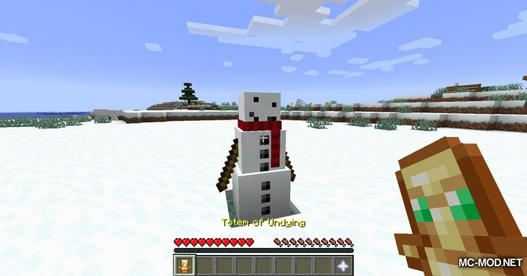 Simply Snowman mod for Minecraft (11)