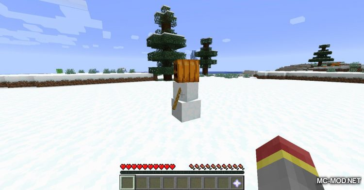 Simply Snowman mod for Minecraft (12)