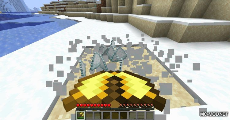 Simply Snowman mod for Minecraft (7)