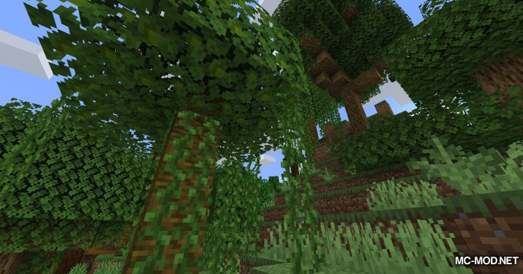 The Biome Overhaul mod for Minecraft (1)