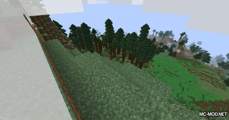 The Biome Overhaul mod for Minecraft (13)