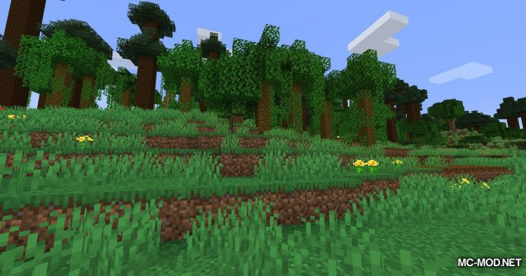 The Biome Overhaul mod for Minecraft (16)