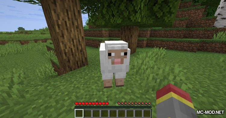 Blood Particles mod for Minecraft (2)