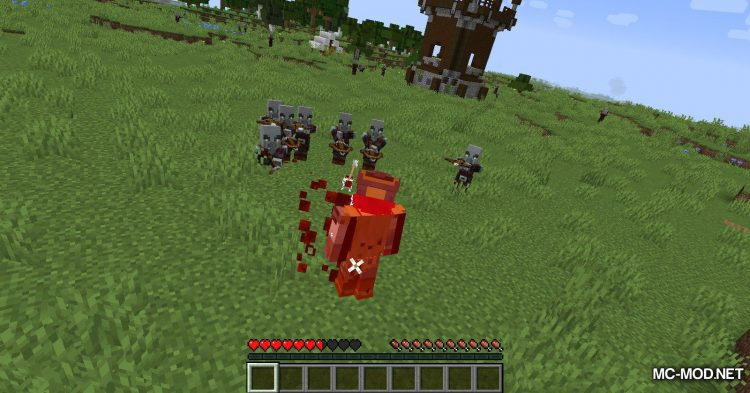 Blood Particles mod for Minecraft (5)