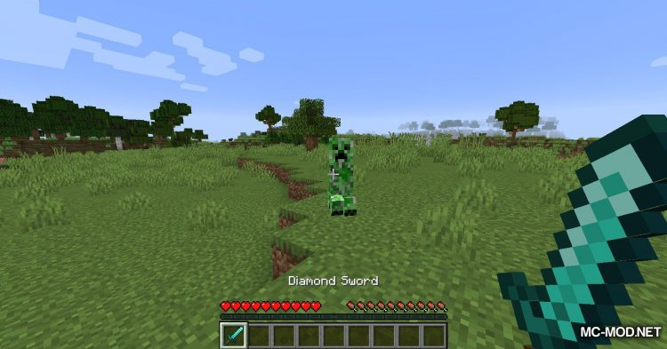 Blood Particles mod for Minecraft (6)