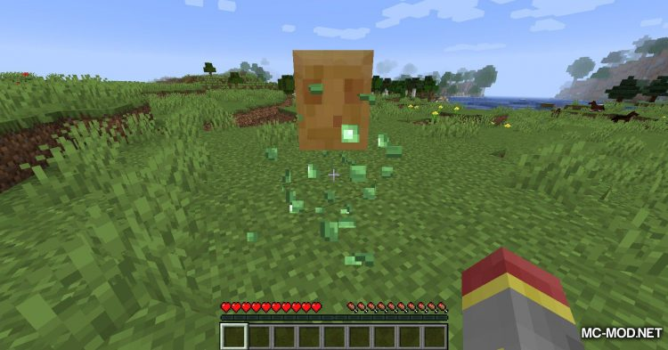 Blood Particles mod for Minecraft (8)