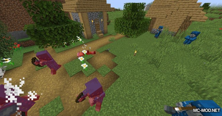 Guard Villagers mod for Minecraft (10)