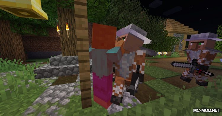 Guard Villagers mod for Minecraft (4)