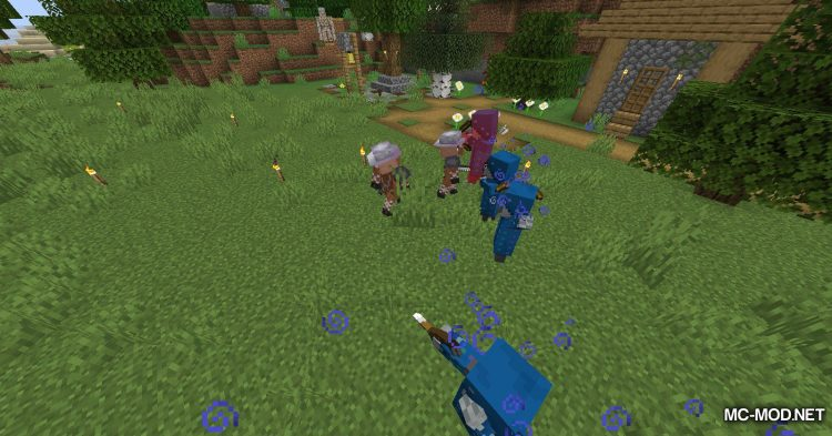 Guard Villagers mod for Minecraft (9)