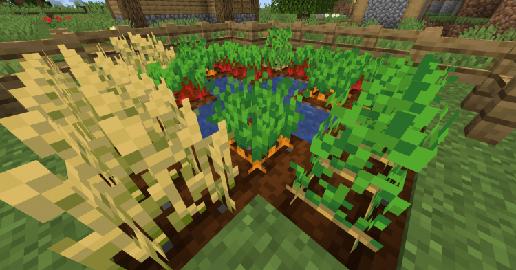 Harvest mod for Minecraft (3)