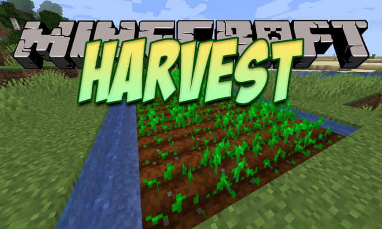Harvest mod for Minecraft logo