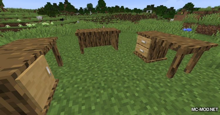 Macaw_s Furniture mod for Minecraft (9)