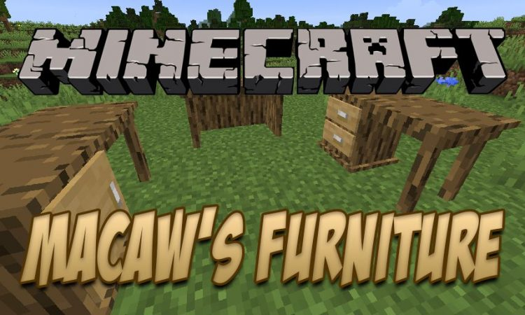 Macaw_s Furniture mod for Minecraft logo