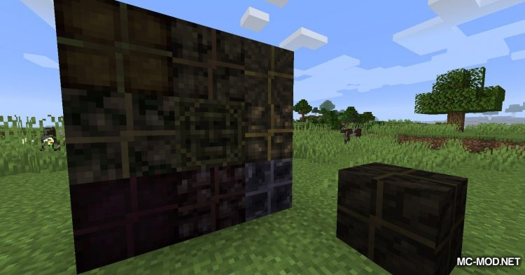 More Charcoal mod for Minecraft (12)