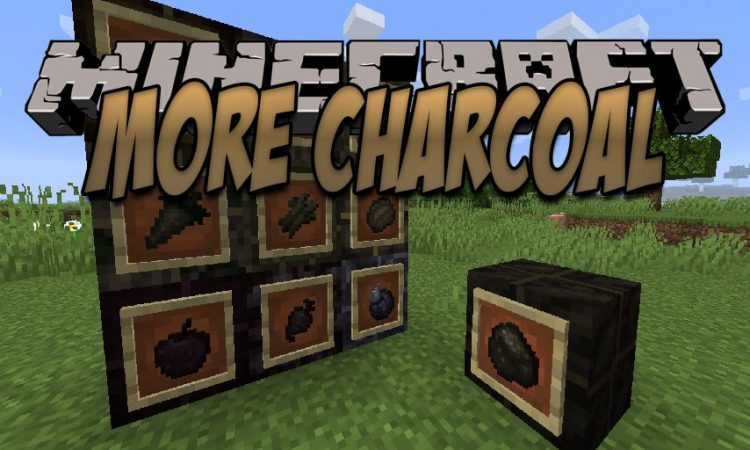 More Charcoal mod for Minecraft logo