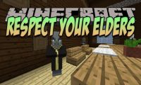 Respect Your Elders mod for Minecraft logo