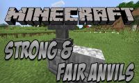 Strong And Fair Anvils mod for Minecraft logo