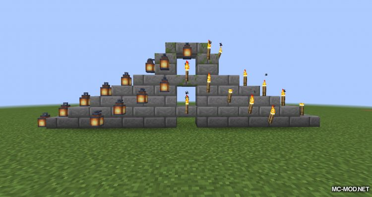Torch Slabs Mod mod for Minecraft (11)