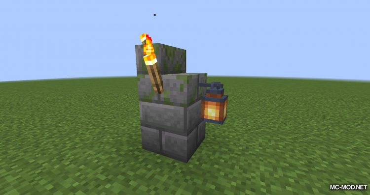 Torch Slabs Mod mod for Minecraft (2)