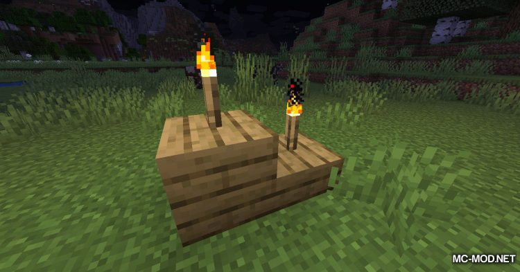 Torch Slabs Mod mod for Minecraft (4)