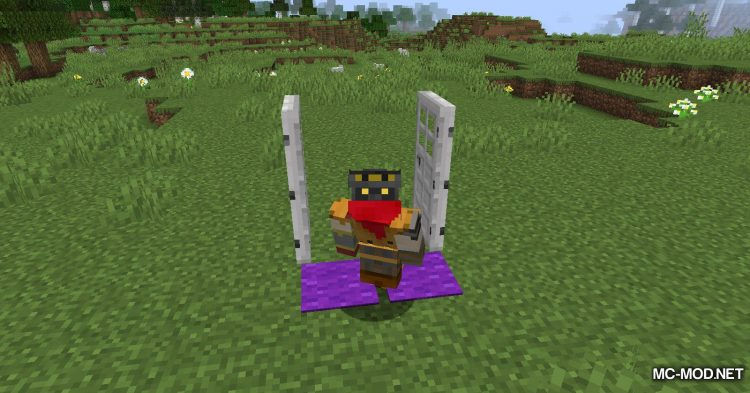 Wool Pressure Plates mod for Minecraft (6)