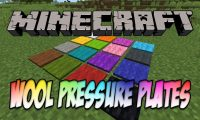 Wool Pressure Plates mod for Minecraft logo