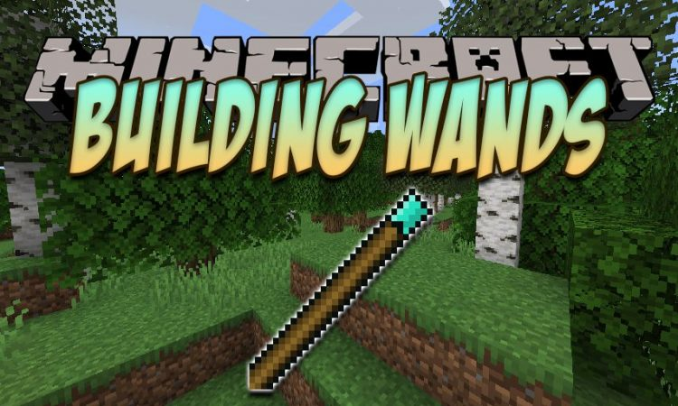 Building Wands mod for Minecraft logo