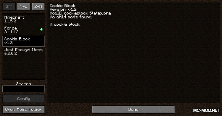 Cookie Block mod for Minecraft (1)