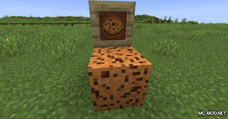 Cookie Block mod for Minecraft (6)