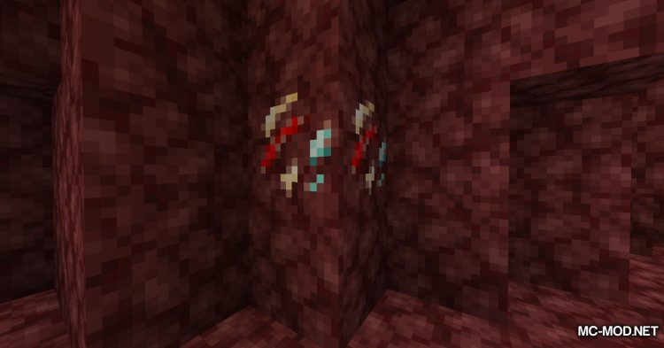 Lucky Ore mod for Minecraft (8)