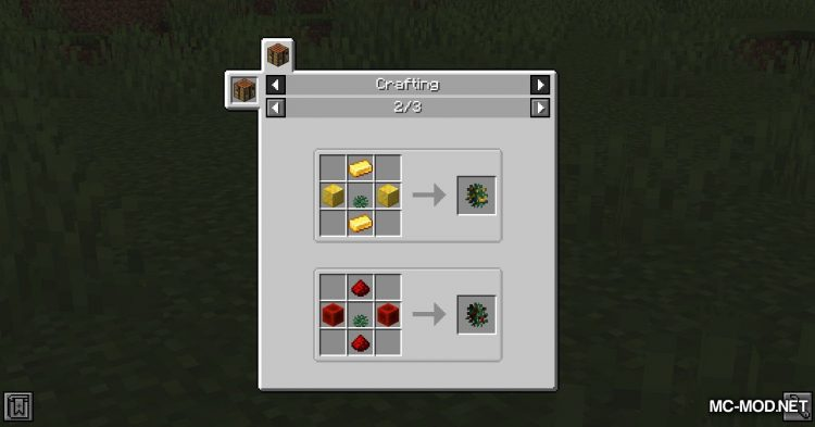 Metal Bushes mod for Minecraft (11)