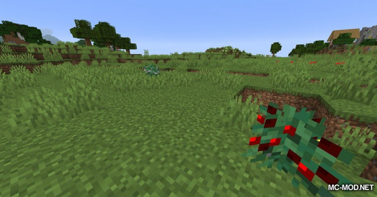 Metal Bushes mod for Minecraft (2)