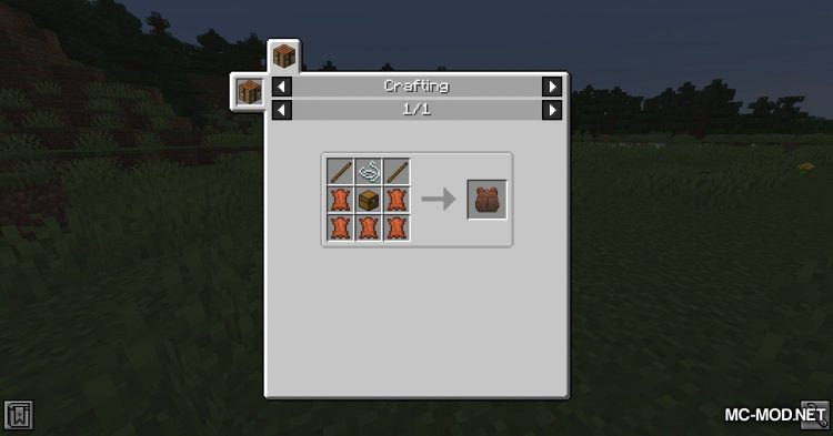 Packed Up mod for Minecraft (1)
