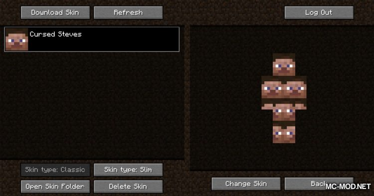 Skin Swapper mod for Minecraft (10)