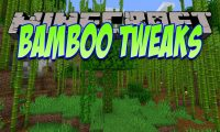 Bamboo Tweaks mod for Minecraft logo
