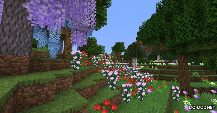 Bloomful mod for Minecraft (11)
