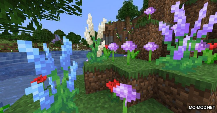 Bloomful mod for Minecraft (4)
