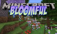 Bloomful mod for Minecraft logo