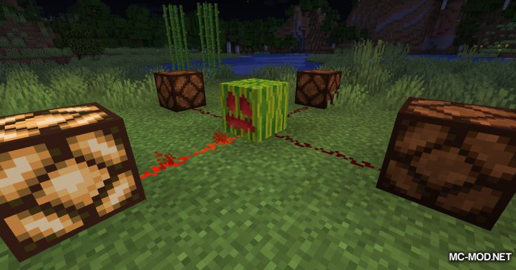 Carved Melon mod for Minecraft (11)