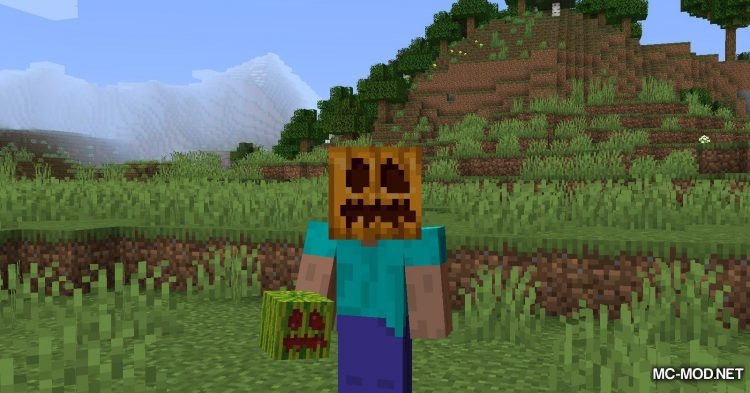 Carved Melon mod for Minecraft (6)