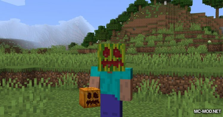 Carved Melon mod for Minecraft (7)