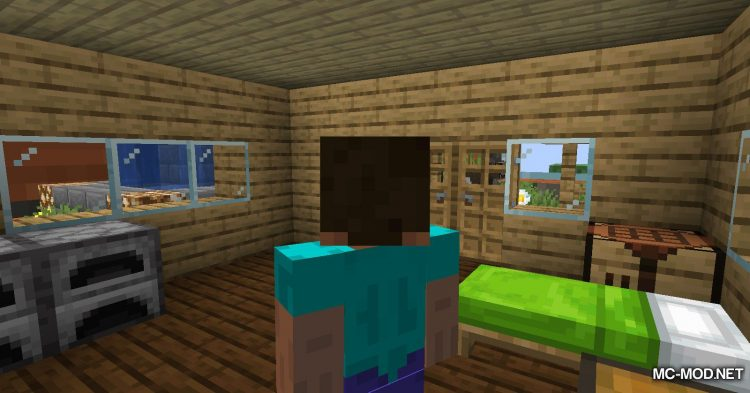 Chunk In A Globe mod for Minecraft (3)