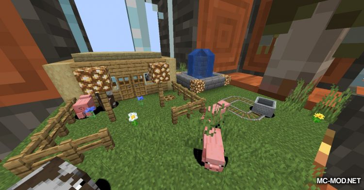 Chunk In A Globe mod for Minecraft (4)